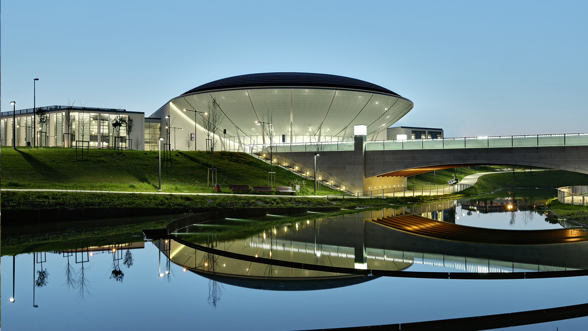 NEW CONFERENCE CENTRE