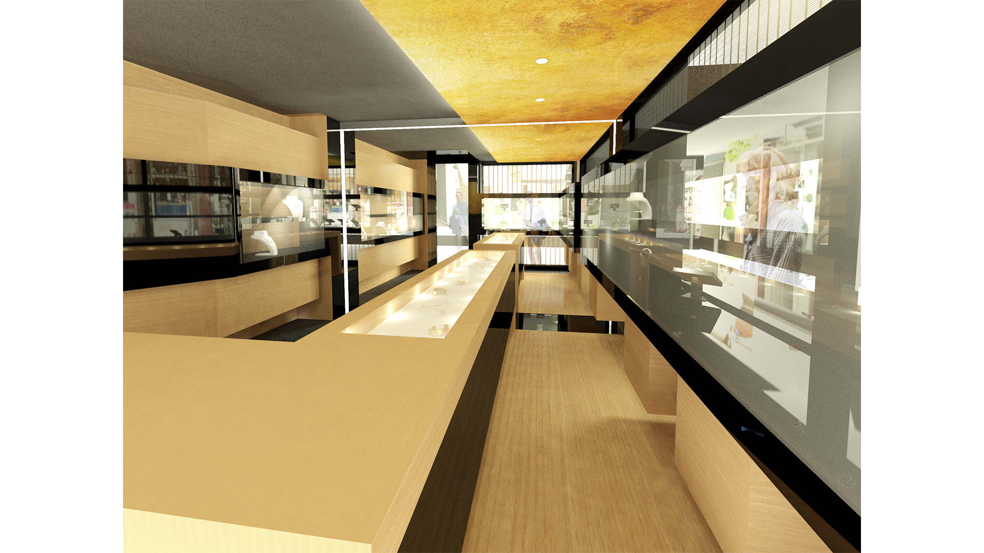 RENOVATION OF JEWELLERY STORE