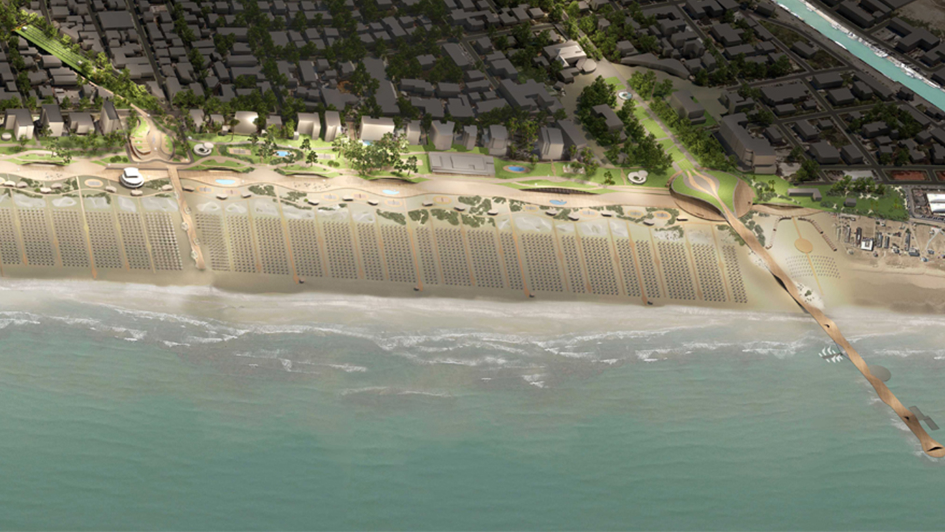 VISION OF NEW RIMINI WATERFRONT