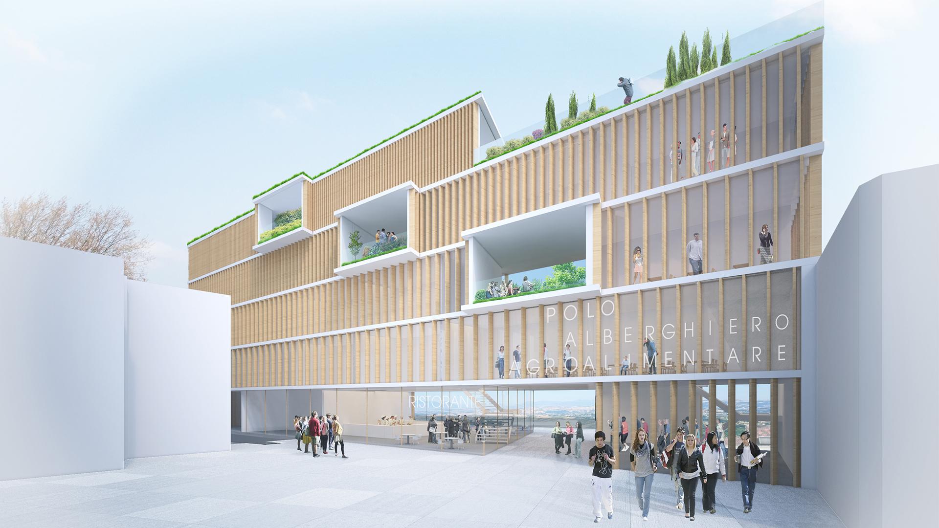 NEW CULINARY SCHOOL IN ARIANO IRPINO