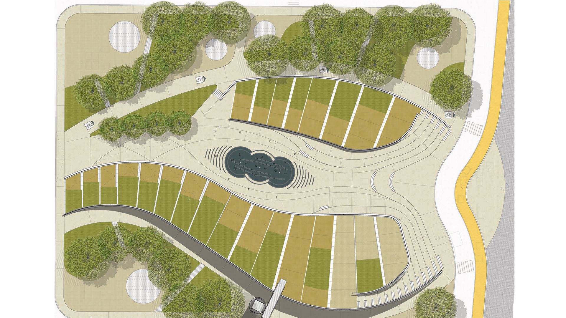 """NEW DESIGN FOR """"KENNEDY SQUARE"""""""